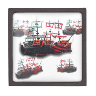 Pirate ships are leaving for a Good Trip Gift Box