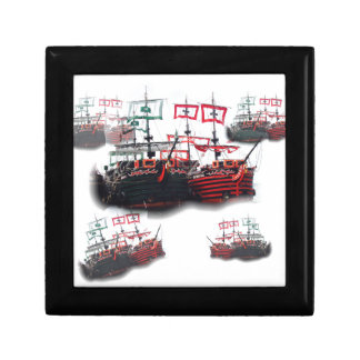 Pirate ships are leaving for a Good Trip Keepsake Box