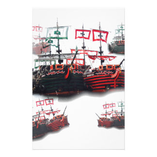 Pirate ships are leaving for a Good Trip Stationery