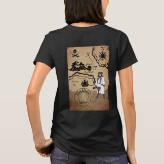 Pirate shirt-Blackbeard T-Shirt