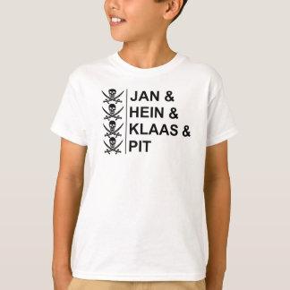 "Pirate-Shirt ""Jan & Hein & Klaas & Pit"" T-Shirt"