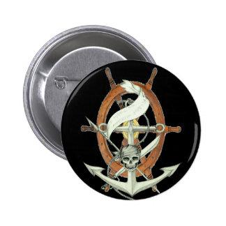 Pirate Sigil Pinback Button
