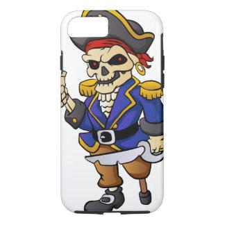 pirate skeleton cartoon iPhone 7 case