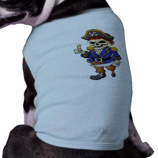 pirate skeleton cartoon shirt