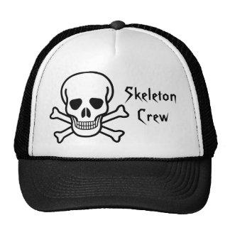 Pirate Skeleton Crew Trucker Hat