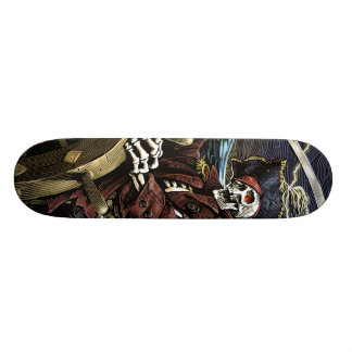 Pirate Skeleton Skateboard