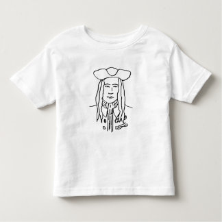 Pirate Sketch. Toddler T-shirt