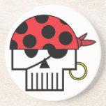Pirate Skulicon Coaster