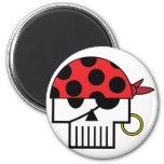 Pirate Skulicon Magnet