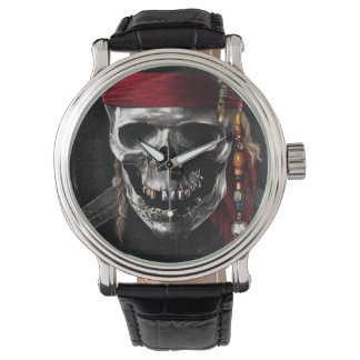 Pirate Skull 2 Wrist Watch