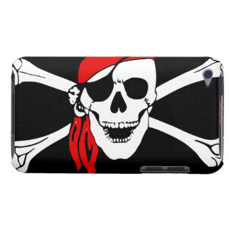 Pirate Skull and cross bones Case-Mate iPod Touch Case
