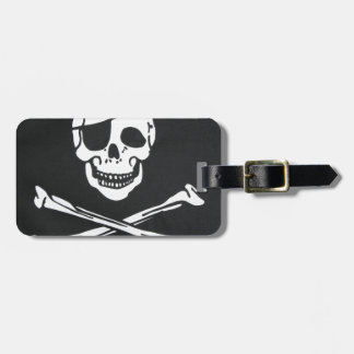 Pirate Skull and Cross Bones - Jolly Roger Luggage Tag