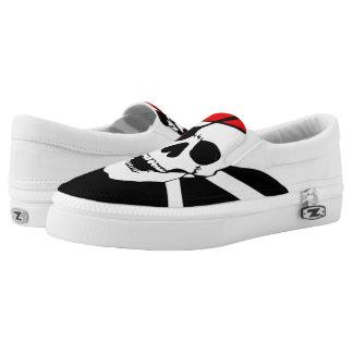 Pirate Skull and cross bones Slip-On Sneakers