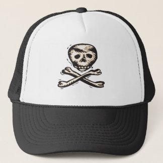 Pirate Skull and Crossbones design Trucker Hat