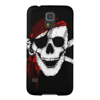 Pirate Skull and Crossbones Galaxy S5 Case