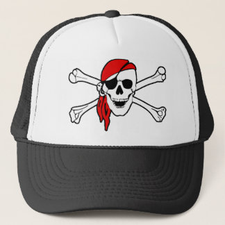 Pirate Skull and Crossbones Hat