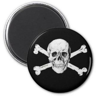 Pirate Skull and Crossbones Refrigerator Magnets