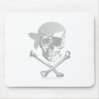 Pirate Skull and Crossbones Mouse Pad