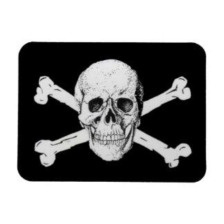 Pirate Skull and Crossbones Rectangular Magnets