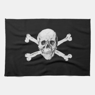 Pirate Skull and Crossbones Towel