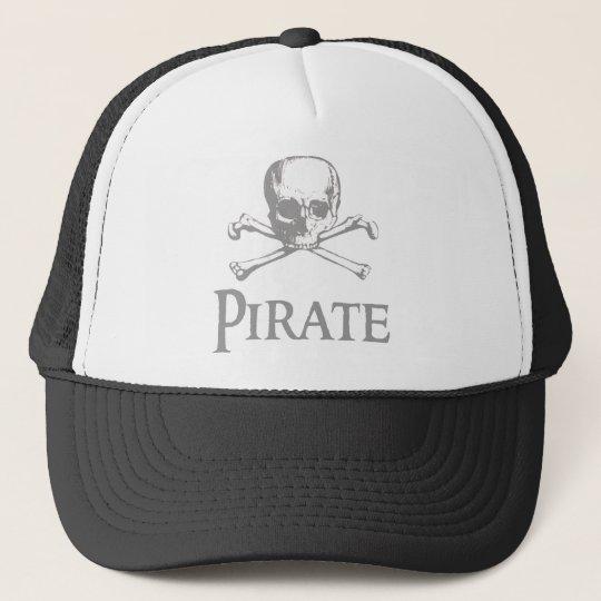 Pirate Skull and Crossbones Trucker Hat