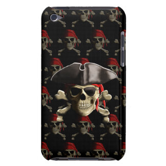 Pirate Skull And Hat Barely There iPod Cover