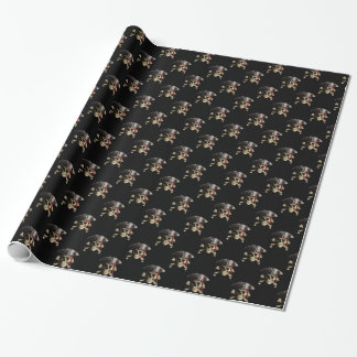 Pirate Skull And Hat Wrapping Paper