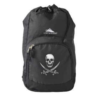 Pirate Skull and Sword Crossbones (TLAPD) Backpack