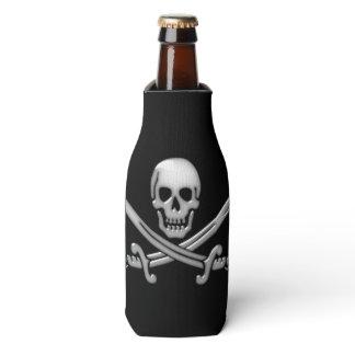 Pirate Skull and Sword Crossbones (TLAPD) Bottle Cooler