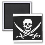 Pirate Skull and Swords Magnets