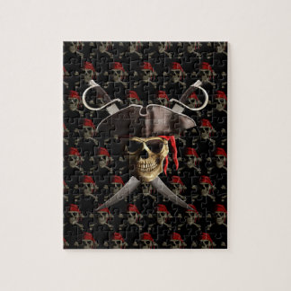 Pirate Skull And Swords Puzzles