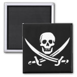 Pirate Skull and Swords Refrigerator Magnets