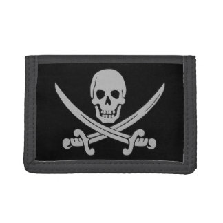 Pirate Skull and Swords Wallet