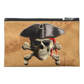 Pirate Skull Travel Accessory Bag