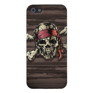 Pirate Skull Bandana Cover For iPhone SE/5/5s