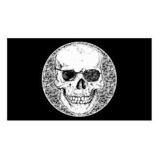 pirate skull Double-Sided standard business cards (Pack of 100)