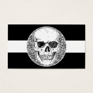 pirate skull business card