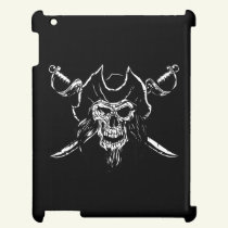 PIRATE SKULL CASE FOR THE iPAD DESIGN