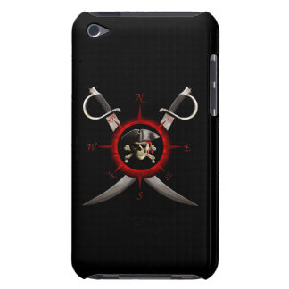 Pirate Skull Compass Rose iPod Touch Cover