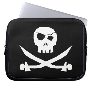Pirate Skull Computer Sleeve