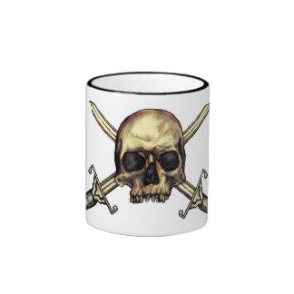 Pirate Skull & Cross Swords Mug