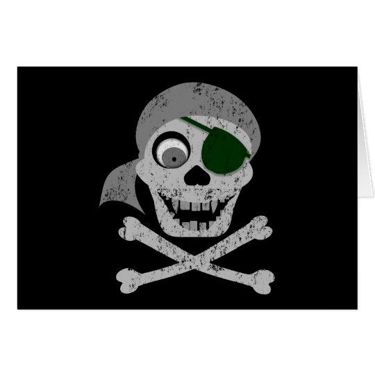 Pirate Skull & Crossbones Cards