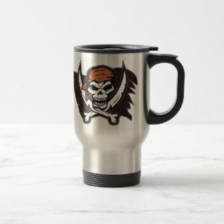 Pirate Skull Crossbones Double Sided Print Mug