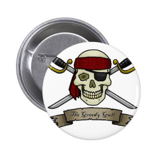 pirate-skull-crossbones-jolly-roger-coloring-page pinback button