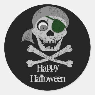 Pirate Skull & Crossbones Stickers