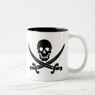 Pirate Skull & Crossed Swords Coffee Mugs