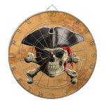 Pirate Skull Dartboard With Darts