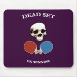 Pirate Skull Dead Ping Pong Mousepad