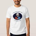 Pirate Skull Good Life Table Tennis T-Shirt