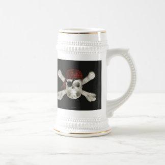 Pirate Skull - Halloween Stein